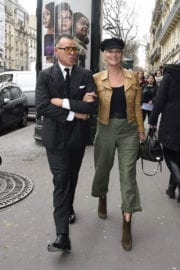 Kate Moss Stills Out and About at Paris Fashion Week 3