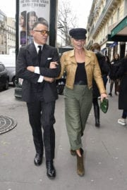 Kate Moss Stills Out and About at Paris Fashion Week 4