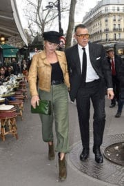 Kate Moss Stills Out and About at Paris Fashion Week 5