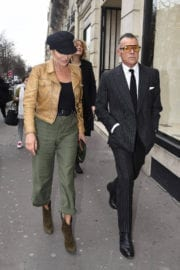 Kate Moss Stills Out and About at Paris Fashion Week 6