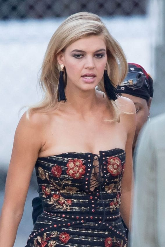 Kelly Rohrbach Stills on the Set of Ocean's Eight in Los Angeles