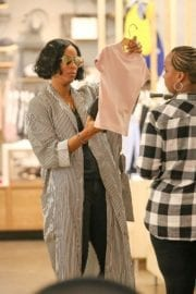 Kelly Rowland Stills Out Shopping in West Hollywood