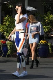 Kendall Jenner and Hailey Rhode Baldwin Stills Out Shopping in West Hollywood