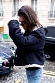 Kendall Jenner Stills Out and About in Paris 6