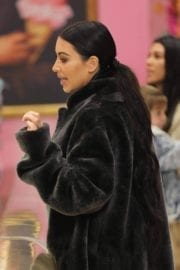 Kim Kardashian Stills at Sloan's Candy Store in Los Angeles 8
