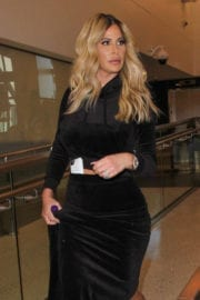 Kim Zolciak Stills at LAX Airport in Los Angeles