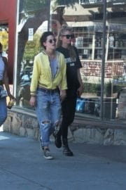 Kristen Stewart and Stella Maxwell Stills Out and About in Los Angeles 6