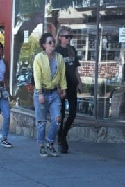 Kristen Stewart and Stella Maxwell Stills Out and About in Los Angeles 7
