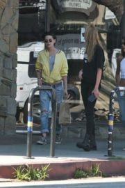 Kristen Stewart and Stella Maxwell Stills Out and About in Los Angeles 13