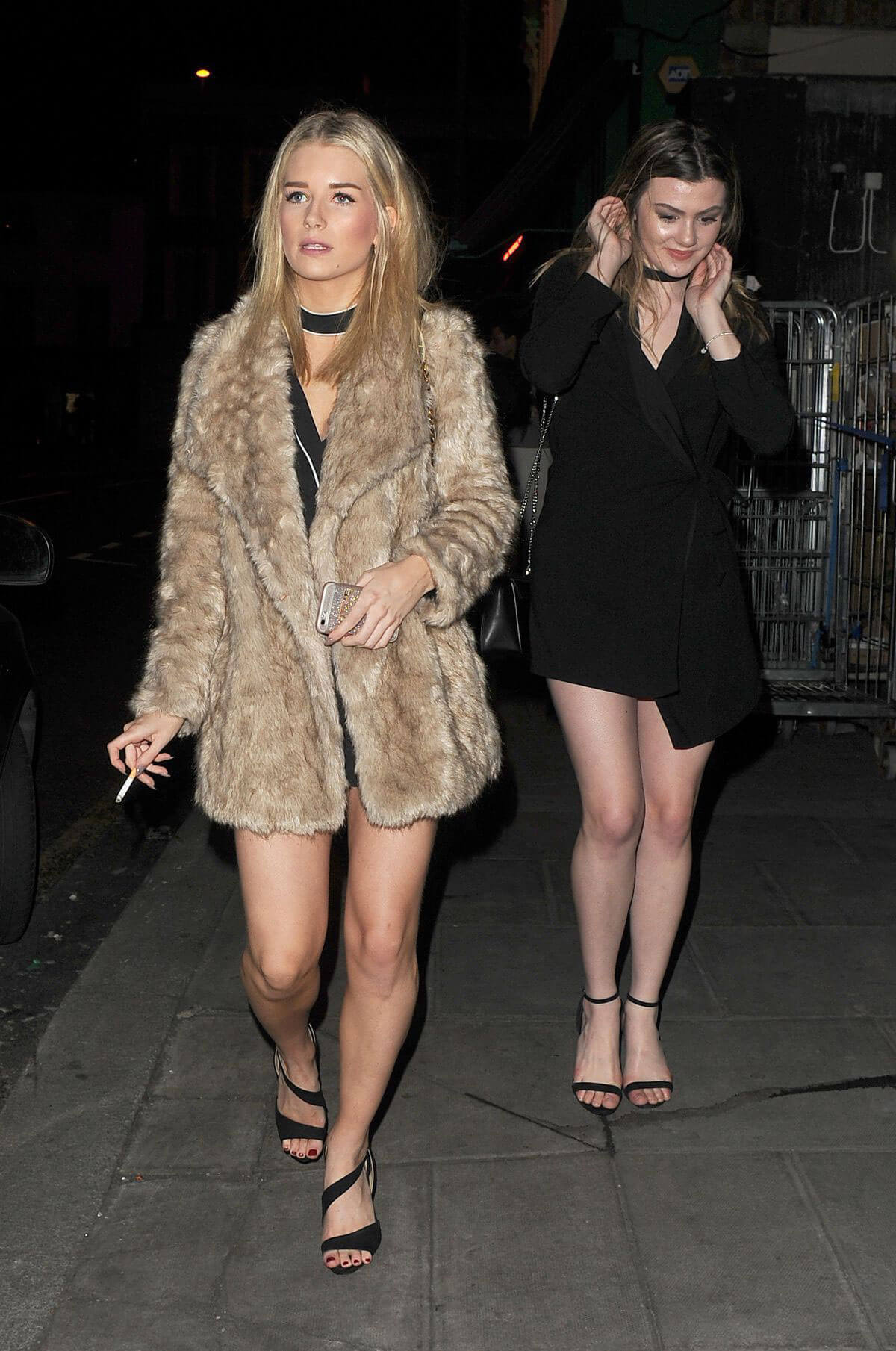 Lottie Moss and Emily Blackwell Stills Bight Out in Chelsea