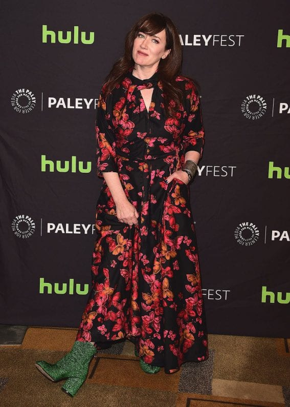 Maria Doyle Kennedy Stills at Orphan Black Panel at Paleyfest in Los Angeles