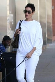 Nicole Mitchell Murphy Stills Walks Her Dog Out in West Hollywood 2