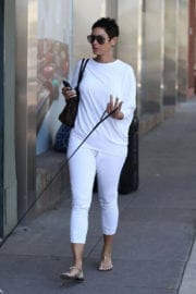 Nicole Mitchell Murphy Stills Walks Her Dog Out in West Hollywood 4