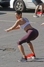 Nicole Mitchell Murphy Stills Working Out in Los Angeles 6