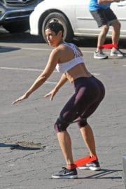 Nicole Mitchell Murphy Stills Working Out in Los Angeles 7