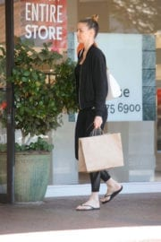 Paige Butcher Stills Out and About in Beverly Hills 9