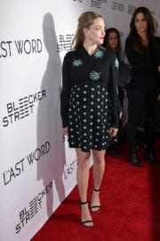 """Pregnant Amanda Seyfried Stills at """"The Last Word"""" Premiere in Hollywood"""