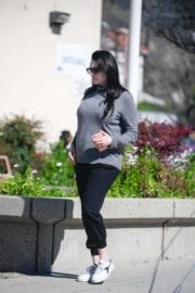 Pregnant Laura Prepon Stills Out and About in Glendale