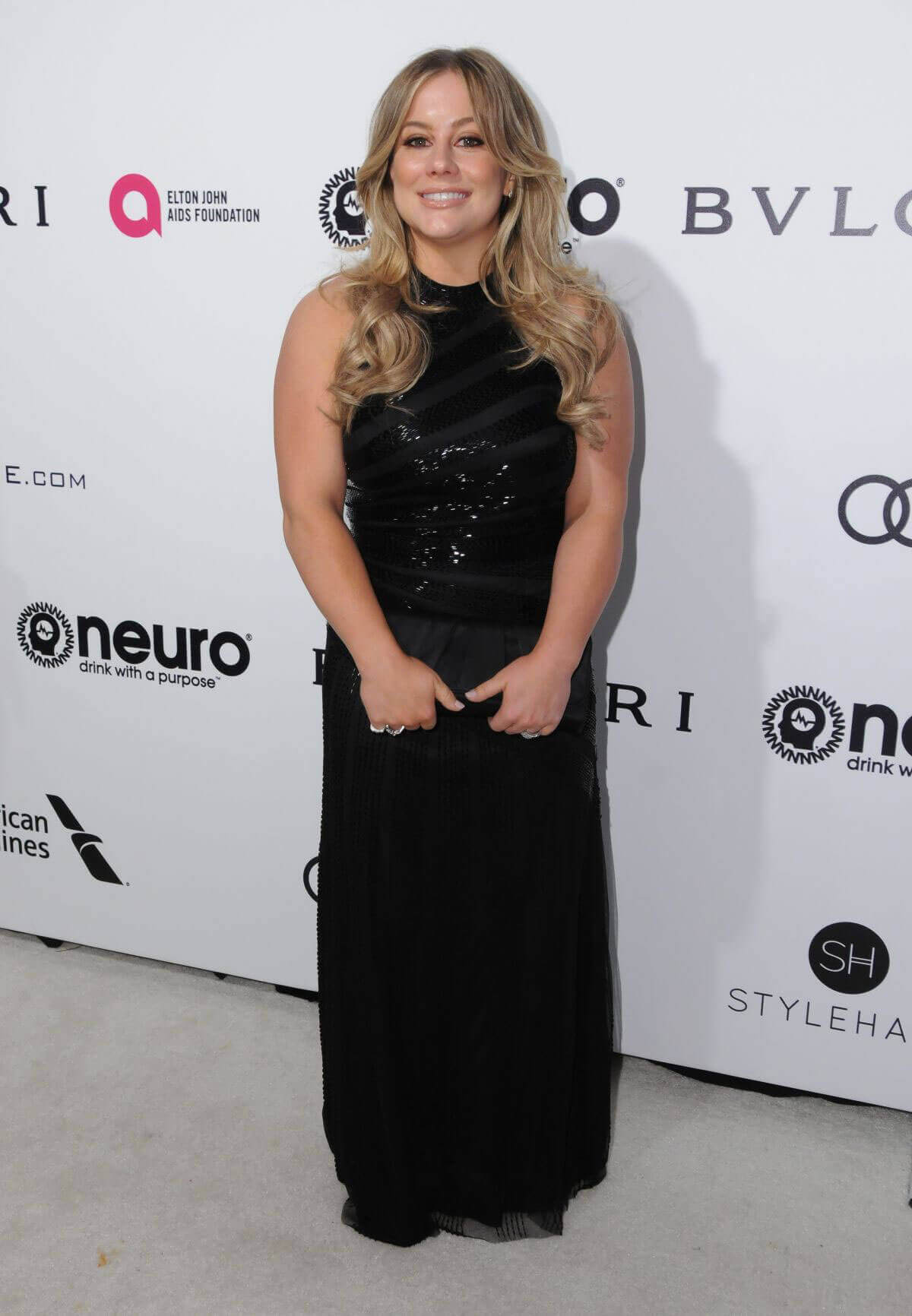 Shawn Johnson Stills at 25th Annual Elton John Aids Foundation's Oscar Party in Hollywood