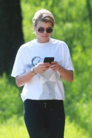 Sofia Richie Stills Out Hiking at Treepeople Park in Los Angeles 2
