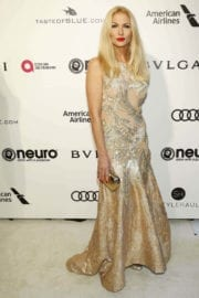 Sonya Kraus Stills at 25th Annual Elton John Aids Foundation's Oscar Party in Hollywood