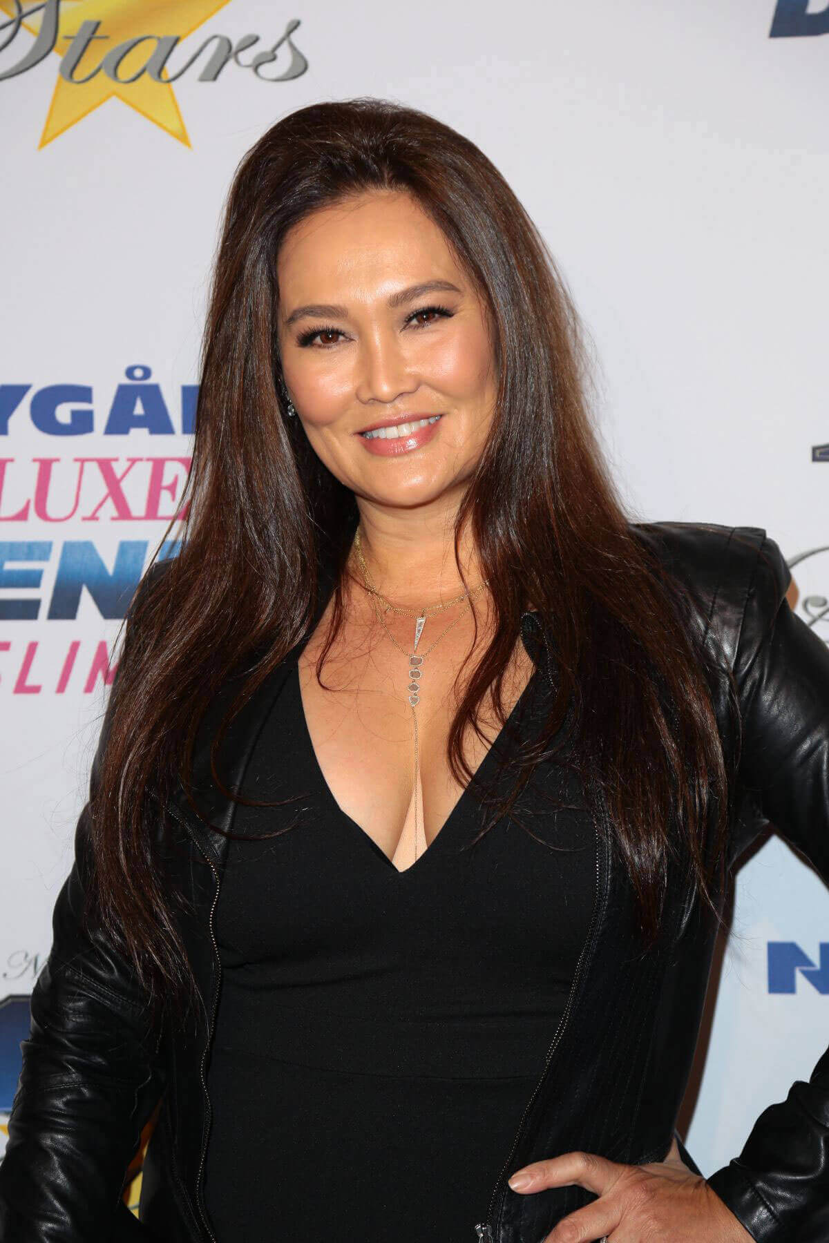 Tia Carrere Stills at 27th Annual Night of 100 Stars Black Tie Dinner in Beverly Hills