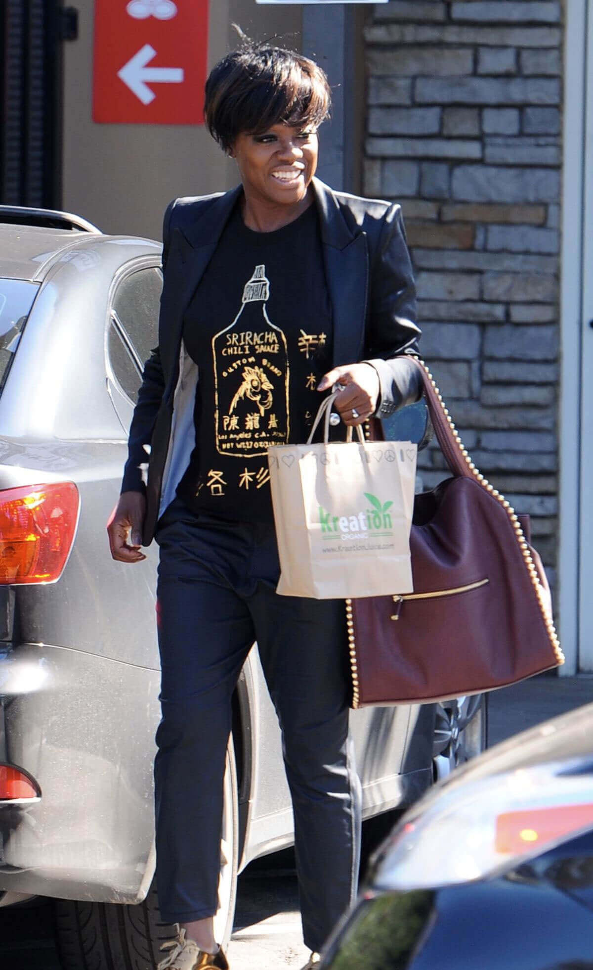 Viola Davis Stills Out and About in Los Angeles