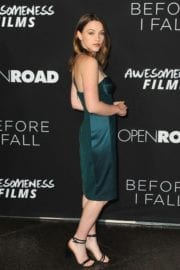 "Violett Beane Stills at ""Before I Fall"" Premiere in Los Angeles"