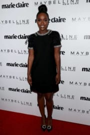 Aja Naomi King Stills at Marie Claire Celebrates Fresh Faces in Los Angeles
