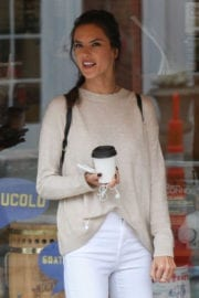Alessandra Ambrosio Stills Out and About Concord