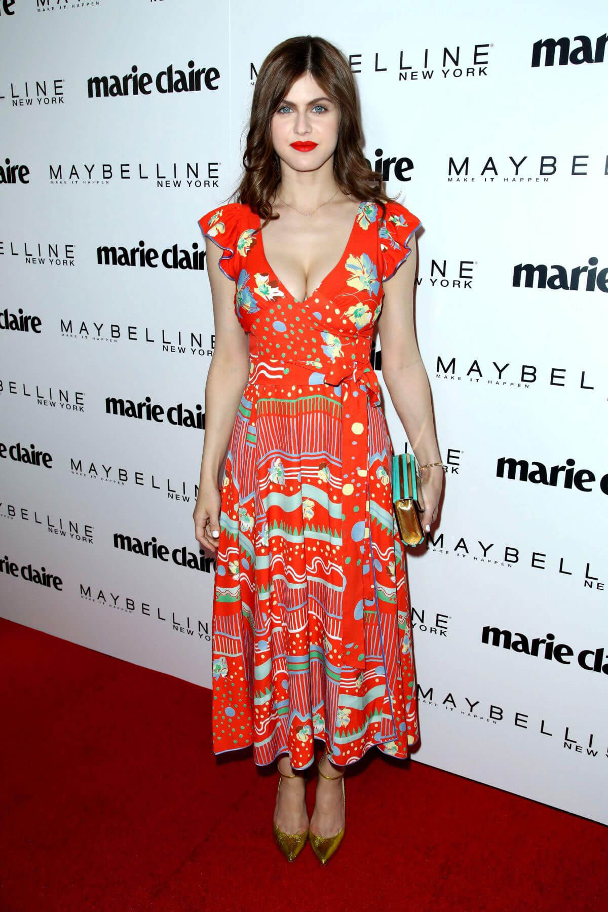 Alexandra Daddario Stills at Marie Claire Celebrates Fresh Faces in Los Angeles