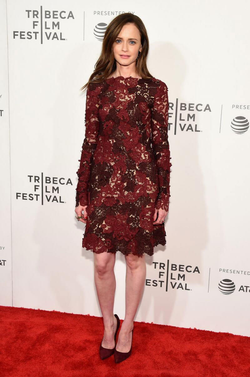 Alexis Bledel Stills at The Handmaid's Tale Premiere at 2017 Tribeca Film Festival in New York