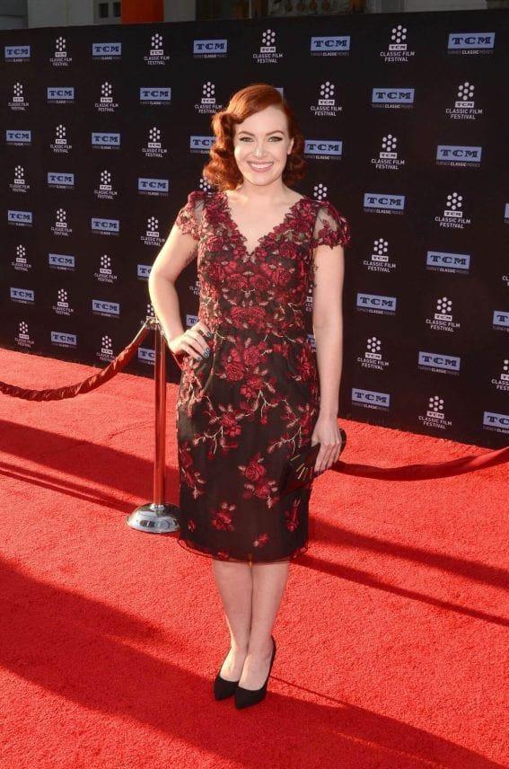 Alicia Malone Stills at 2017 TCM Classic Film Festival Opening Night in Los Angeles