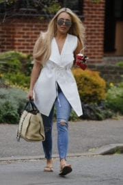 Amber Turner Stills Out and About in London
