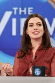 Anne Hathaway at The View Images