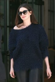 Anne Hathaway Stills Out in New York