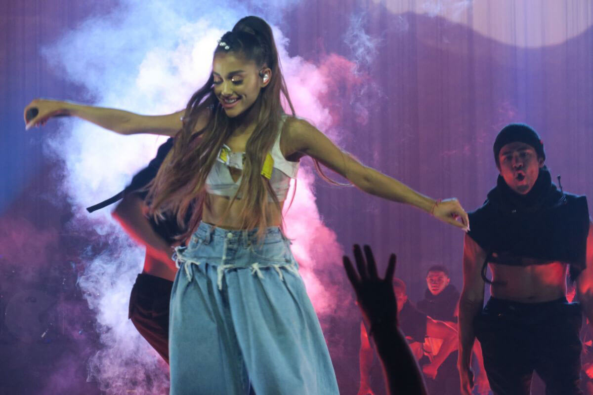 Ariana Grande Performs Stills at her Dangerous Woman Tour in Los Angeles