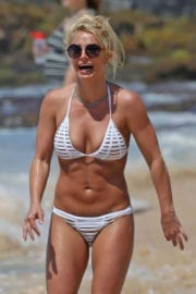 Britney Spears in Bikini on the Beach in Hawaii