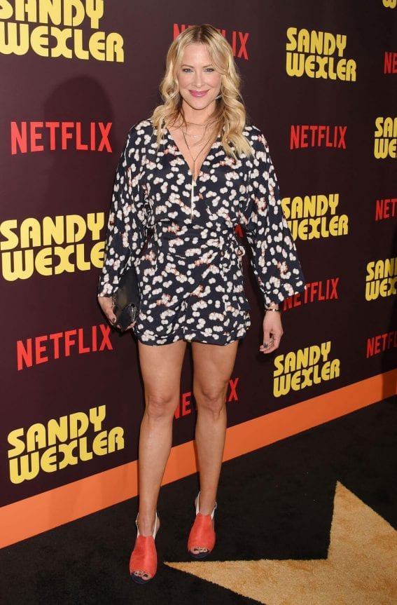 Brittany Daniel Stills at Sandy Wexler Premiere in Hollywood