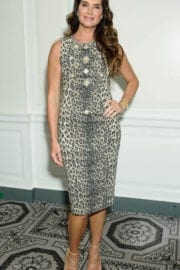 Brooke Shields at Fragrance Foundation Awards Finalist's Luncheon in New York