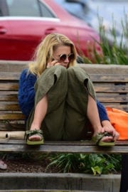 Busy Philipps Stills on the Bench in Los Angeles