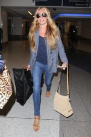 Cat Deeley Stills at LAX Airport in Los Angeles