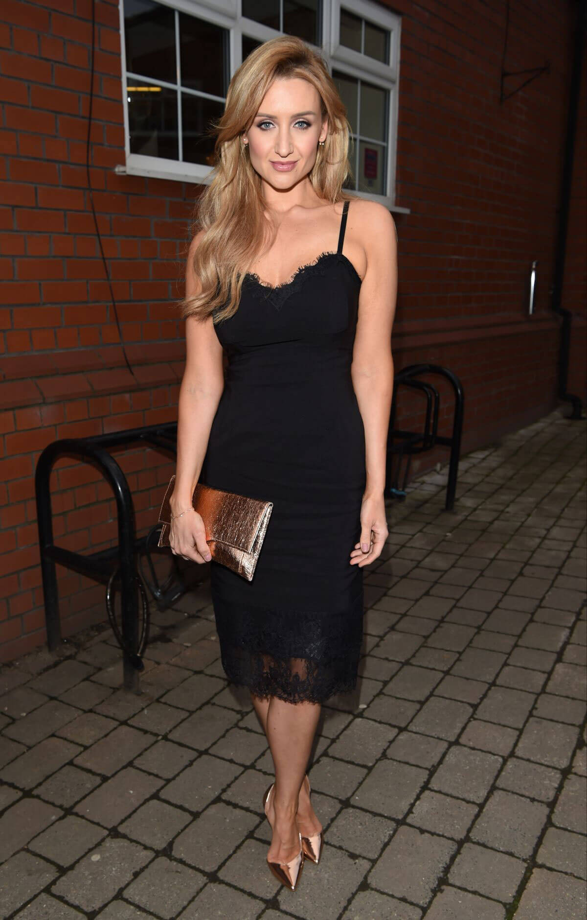 Catherine Tyldesley at Bleakholt Animal Charity Ball in Bury