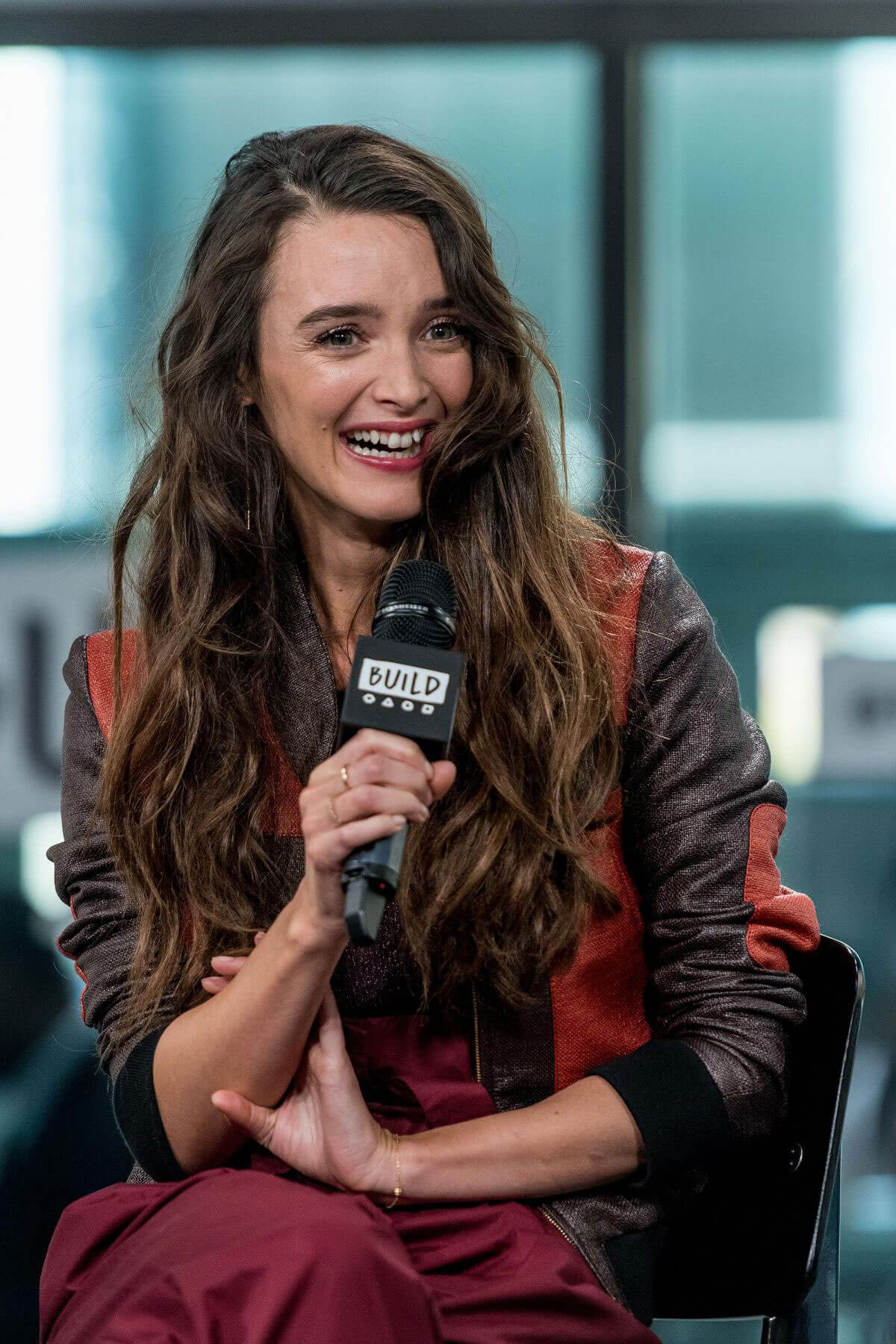 Charlotte Le Bon Stills at AOL Build Speaker Series in New York