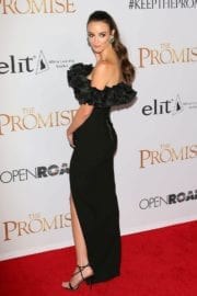 Charlotte Le Bon Stills at The Promise Premiere in Hollywood