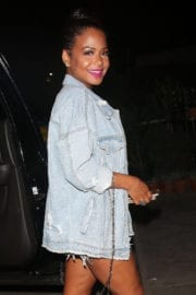 Christina Milian Stills Night Out in Los Angeles