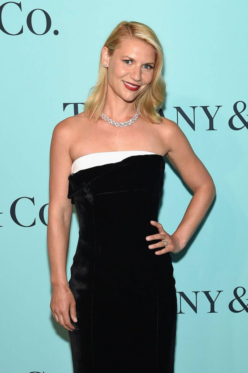 Claire Danes Stills at Tiffany & Co. 2017 Blue Book Collection Gala in New York