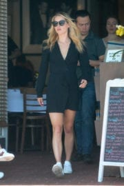 Claire Holt Stills Out for Lunch in West Hollywood