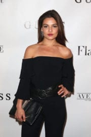 Danielle Campbell at Flaunt and Guess Celebrate in Los Angeles
