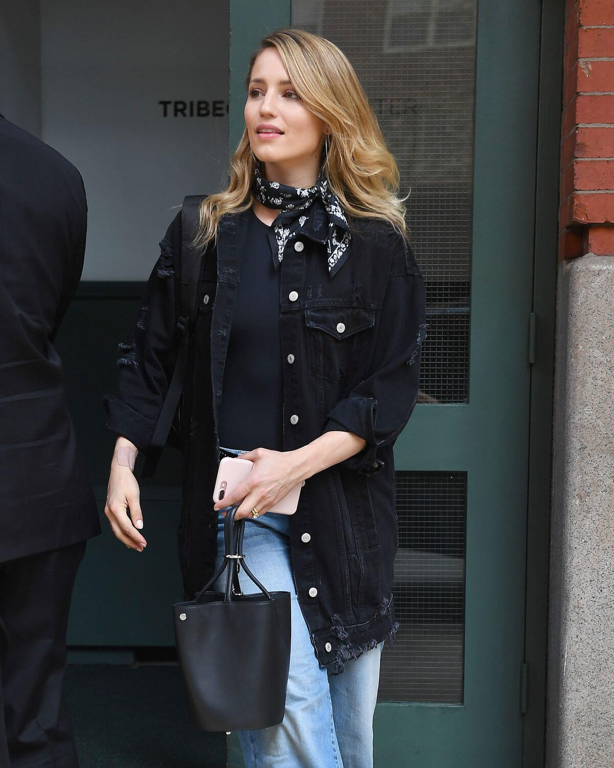 Dianna Agron Stills Leaves Her Hotel in New York